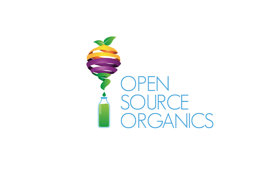 Open Source Organics Logo Design Bali Graphic Design
