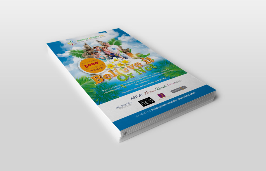 Flyer Design – Indonesia Holiday DMC