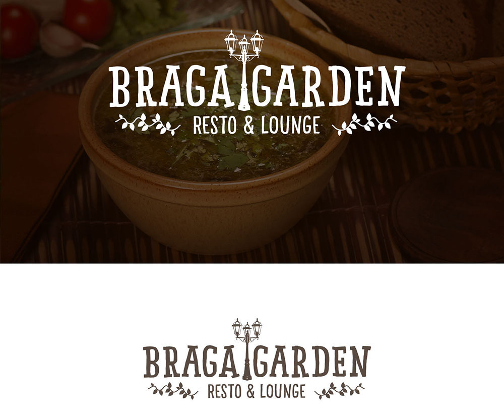 Logo & Business Card design for Braga Garden Resto & Lounge | Bali ...